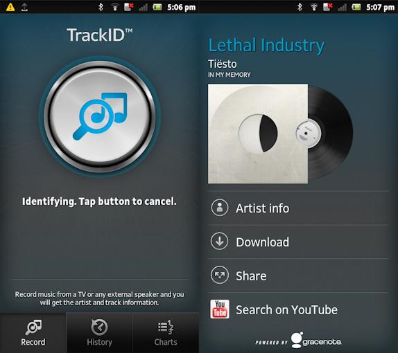 TrackID - 3 ứng dụng hữu ích tìm kiếm bài hát qua giai điệu